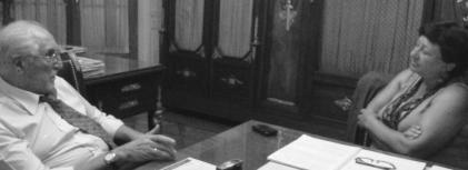 Raquel Castronovo  entrevista a Carlos Vilas