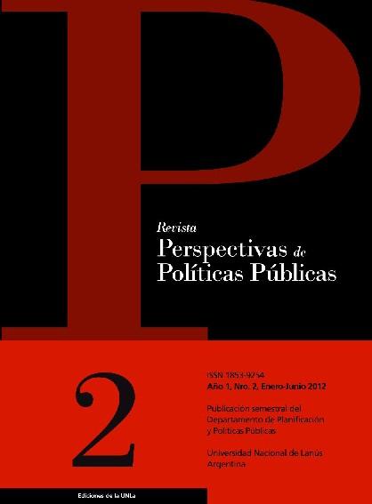 N°2 Revista Perspectivas de Políticas Públicas