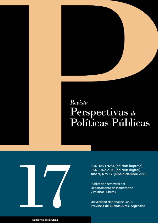 N°17 Revista Perspectivas de Políticas Públicas