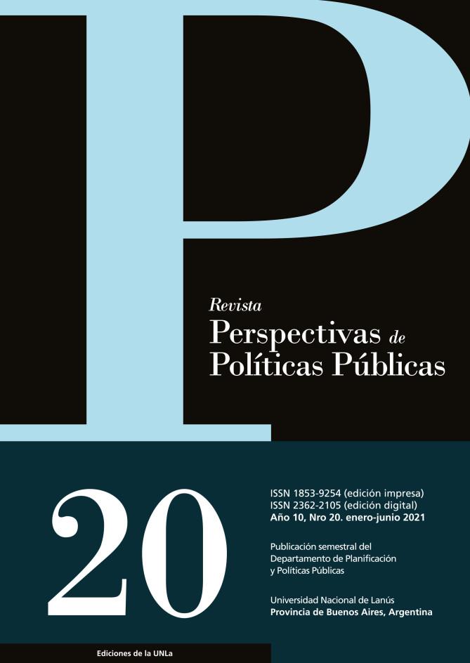 N°20 Revista Perspectivas de Políticas Públicas