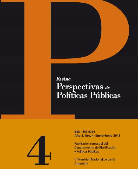 N°4 Revista Perspectivas de Políticas Públicas