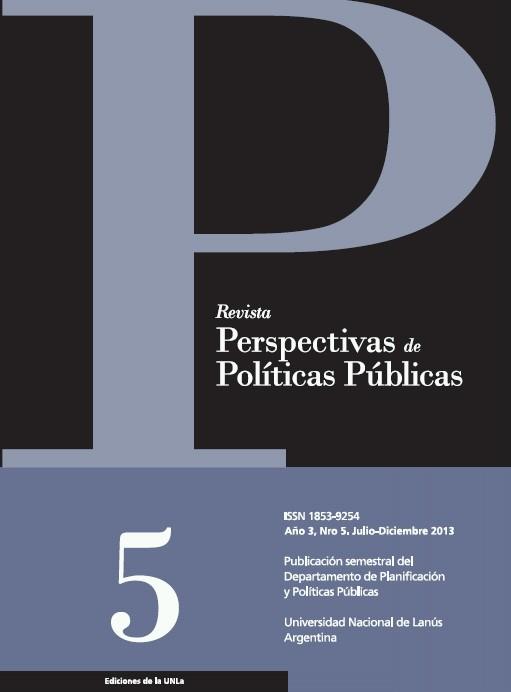 N°5 Revista Perspectivas de Políticas Públicas