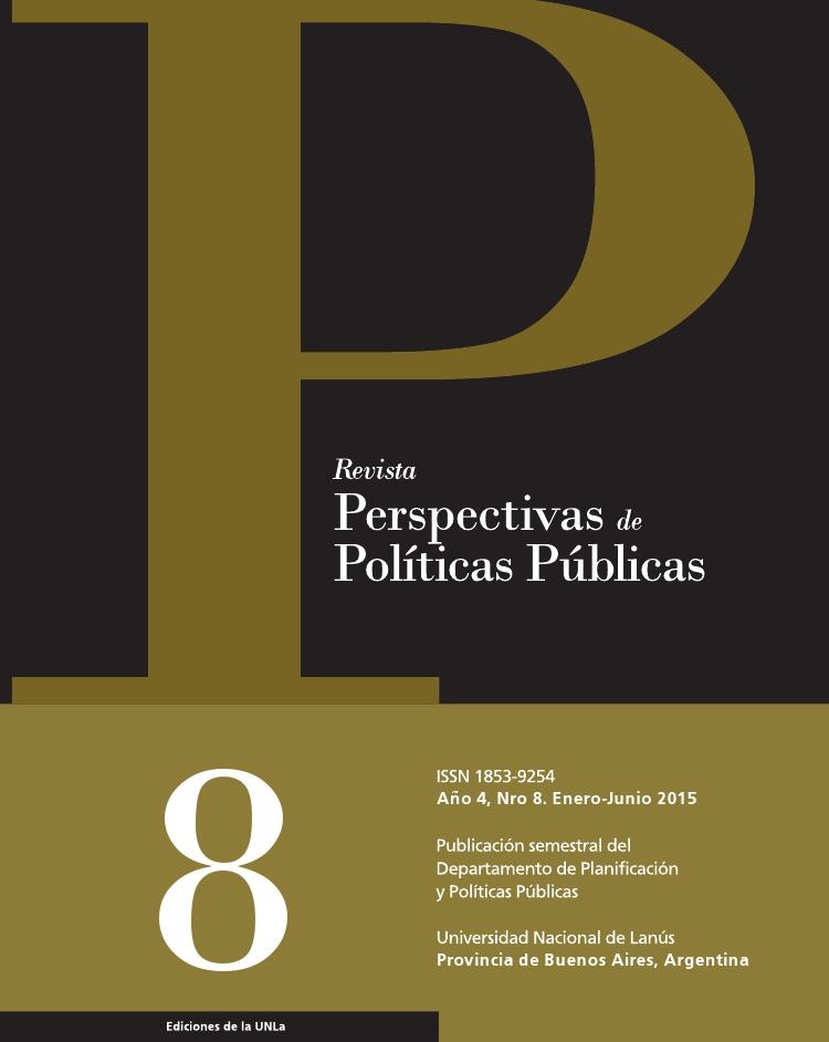 N°8 Revista Perspectivas de Políticas Públicas